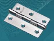 View SS Heavy Windows Hinges (75mm x 2.5mm)