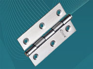 View SS Windows Hinges (75mm x 1.6mm)