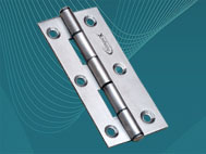 SS Furniture Hinges (75mm x 19 x 13 x 1.6mm)